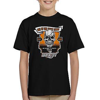 Tiger stigende Street Fighter børne T-Shirt