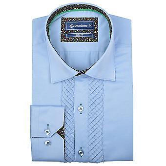 Oscar banker Herre plisseret Front kjole skjorte