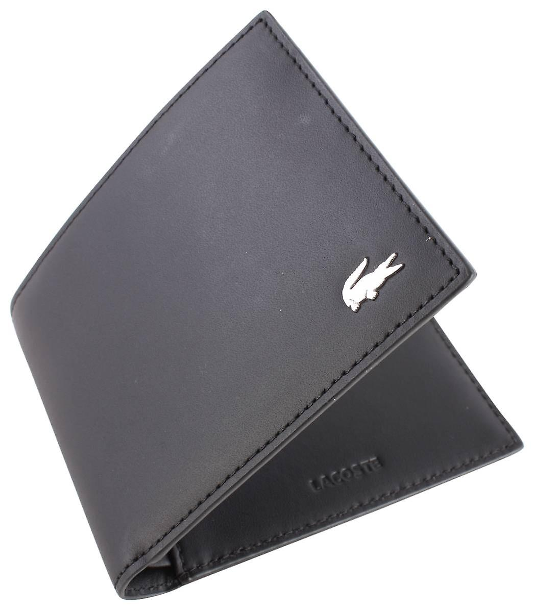 Lacoste Small Billfold Wallet - Black