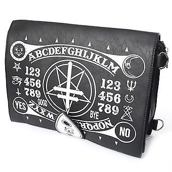 Poizen-okkult bag-messenger bag-svart