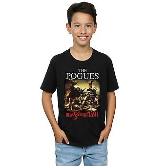 The Pogues Boys Rum Sodomy And The Lash T-Shirt