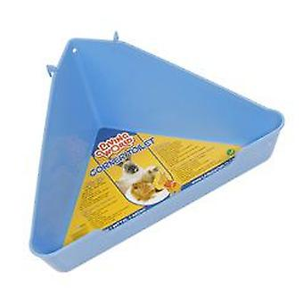 Living World Corner Toilette (Small pets , Hygiene and Cleaning , Toilets)