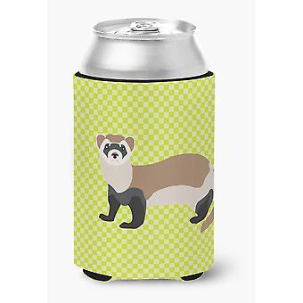 Carolines Treasures  BB7704CC Ferret Green Can or Bottle Hugger