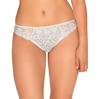 Sans Complexe 609611 Women's Clemence White Floral Lace Knickers Panty Brief