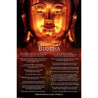 Siddhartha Guatama Buddha Poster Poster Print