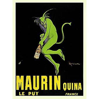 Maurin Quina le Puy Poster Print by Leonetto Cappiello (18 x 25)