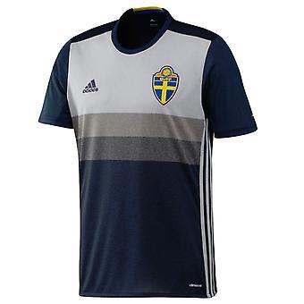 2016-2017 Sweden Away Adidas Football Shirt