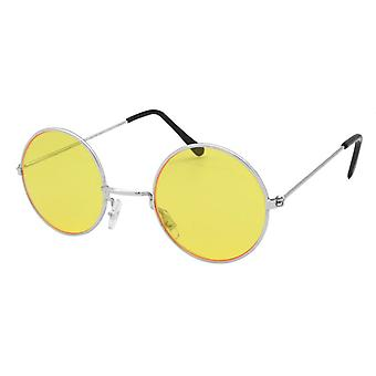 Lennon Glasses Yellow/Silver Frame