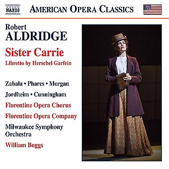Aldridge / coro de la ópera florentina / Boggs - importar de USA hermana Carrie [CD]