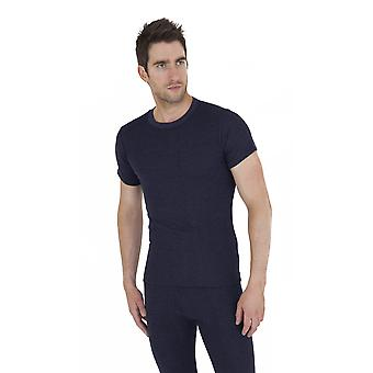 Mens Thermal Underwear Short Sleeve T Shirt Polyviscose Range (British Made)