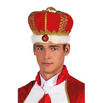 Royal King Crown Hat British Medieval Fancy Dress Party Accessory