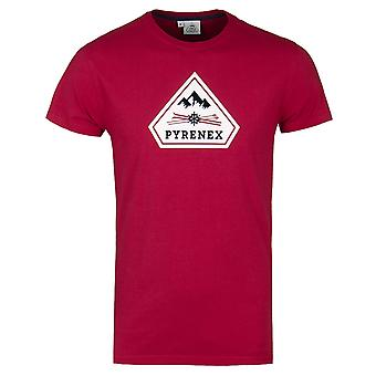Pyrenex Tulipe Red Short Sleeve T-Shirt