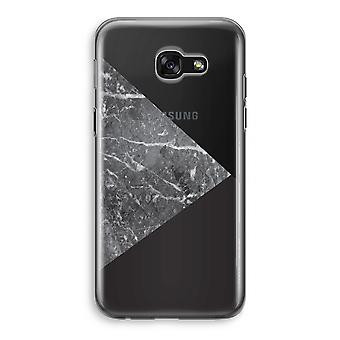 Samsung Galaxy A5 (2017) Transparent Case (Soft) - Marble combination