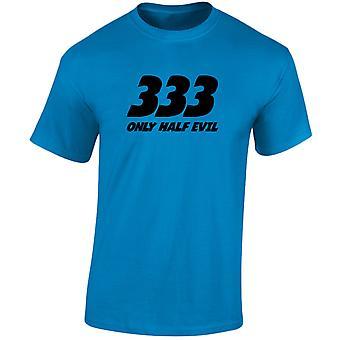 333 medio mal para hombre camiseta 10 colores (S-3XL) por swagwear