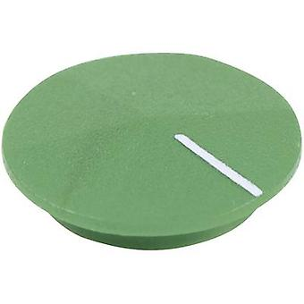 Cover + hand Green, White Suitable for K12 rotary knob Cliff