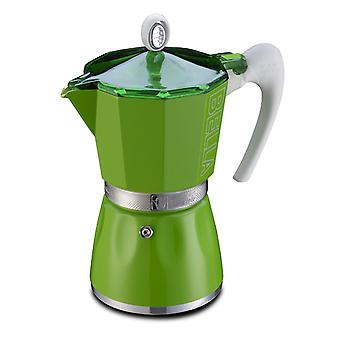 GAT Bella - Moka Stove Top Coffee Espresso Maker - Aluminium - Various Sizes & Colours
