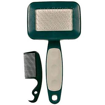 Trixie Carda, Nylon, Soft, C / Brush (Dogs , Grooming & Wellbeing , Brushes & Combs)