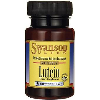 Swanson Lutein 10 mg 60 softgels (Vitamins & supplements , Special supplements)