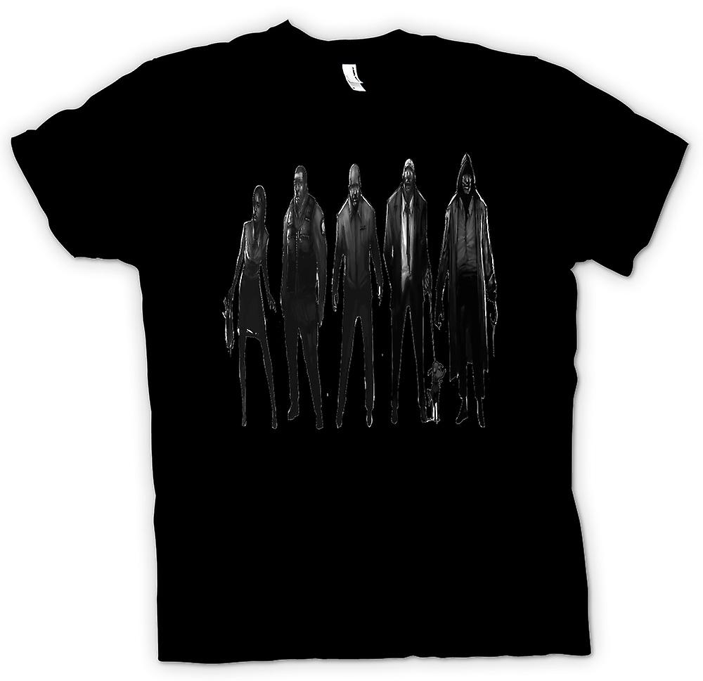 Mens T-shirt - Zombie Gang - Funny