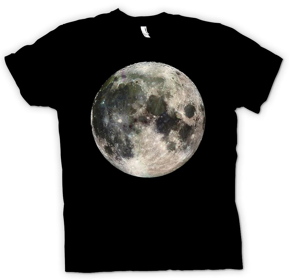 Mens T-shirt - Cool Moon Photo