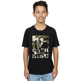 Johnny Cash Boys Cash And The King T-Shirt