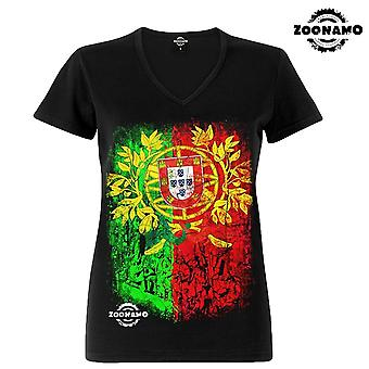 Zoonamo T-Shirt ladies classic for Portugal