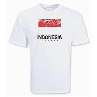 Indonesia Soccer t-skjorte