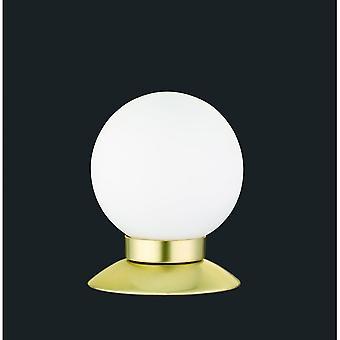 Trio Lighting Princess Modern Brass Matt Metal Table Lamp