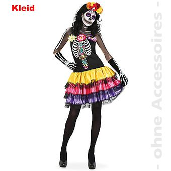 Skeleton costume women's day of the dead Dia de los muertos Halloween women's costume