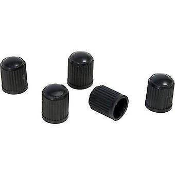 HP Autozubehör ventil støvhætte 5-delt sæt sort