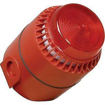 Kombi solidniejsze ComPro Flashni Red Flash, Non-stop sygnał akustyczny 24 Vdc 110 dB