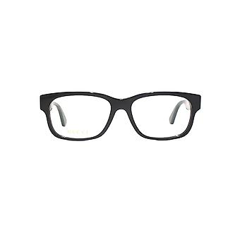 Gucci GG0343O Glasses In Black Green Stripe