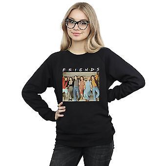 Friends Women's Group Photo Stairs Sweatshirt