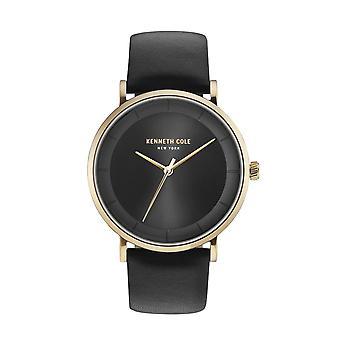 Kenneth Cole New York men's wrist watch analog quartz leather KC50567003