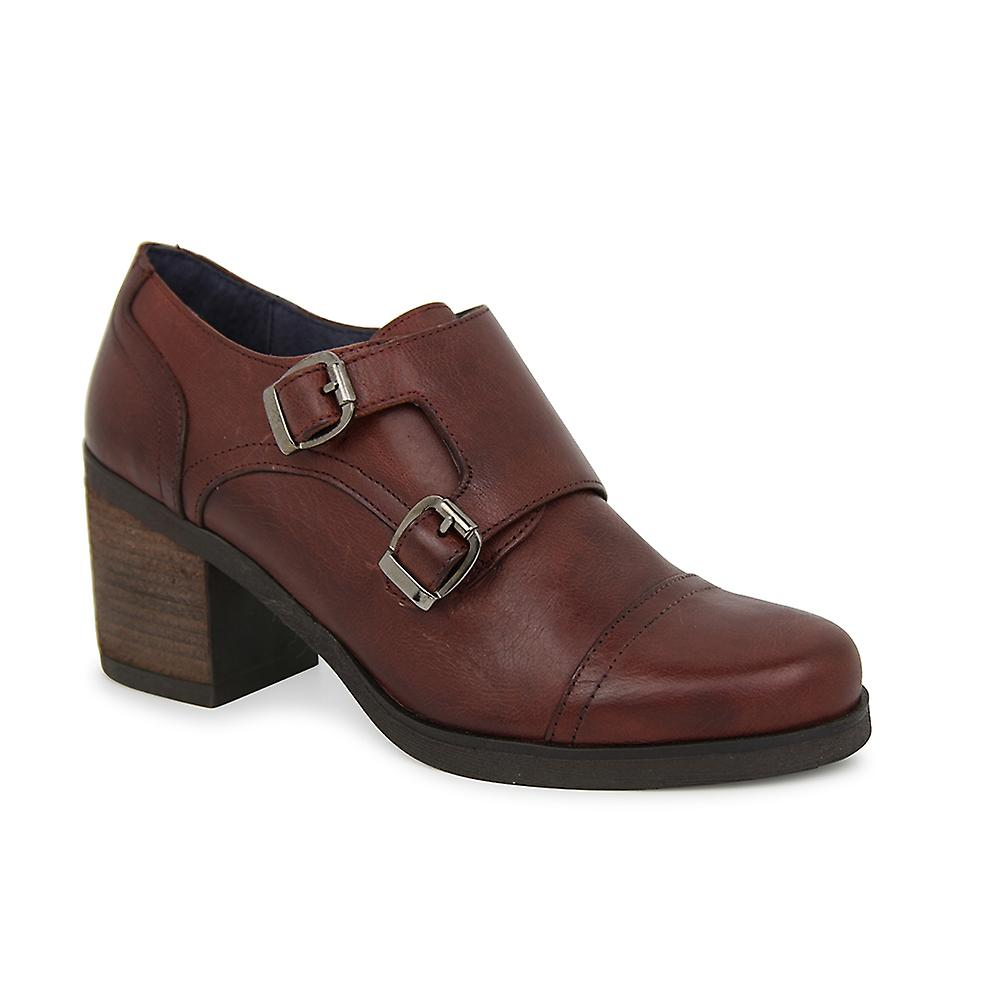 Liberitae bottes cuir de chaussures bottine Marion Bordeaux 21703306-01