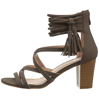 Journee Collection Womens Ruthie Open Toe Special Occasion Strappy Sandals