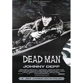 Homme mort (Johnny Depp, Gary farmer) affiche-international