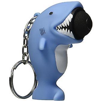 Hog Wild Spielzeug Popper Hai Schlüsselanhänger