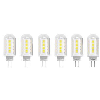 6 x Sylvania ToLEDo G9 2.1W Homelight LED 200lm [energi klasse A ++]