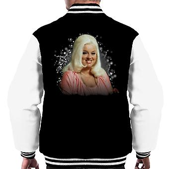 TV Zeiten Diana Dors 1983 Männer Varsity Jacket