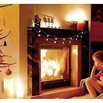 Polarlite LBA-03-002 Holiday lights (motif) Angels Inside battery-powered 16 LED Cold white Illuminated length: 3 m
