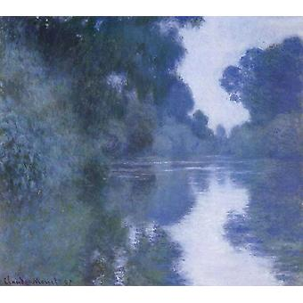 Arm of the Seine near Giverny, Claude Monet, 60x50cm