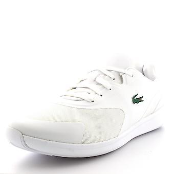 Mens Lacoste Explorateur Sport 316 1 Low Top White Casual Sport Trainers