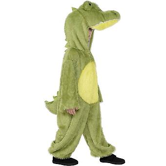 Crocodile Costume, Medium.  Medium Age 7-9