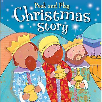 Peek y jugar cuento de Navidad por Christina Goodings - Siobhan Harriso