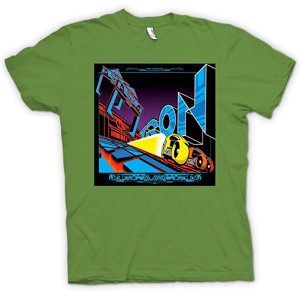 Mens t-shirt-Tron - Pop Art - Cool B Movie