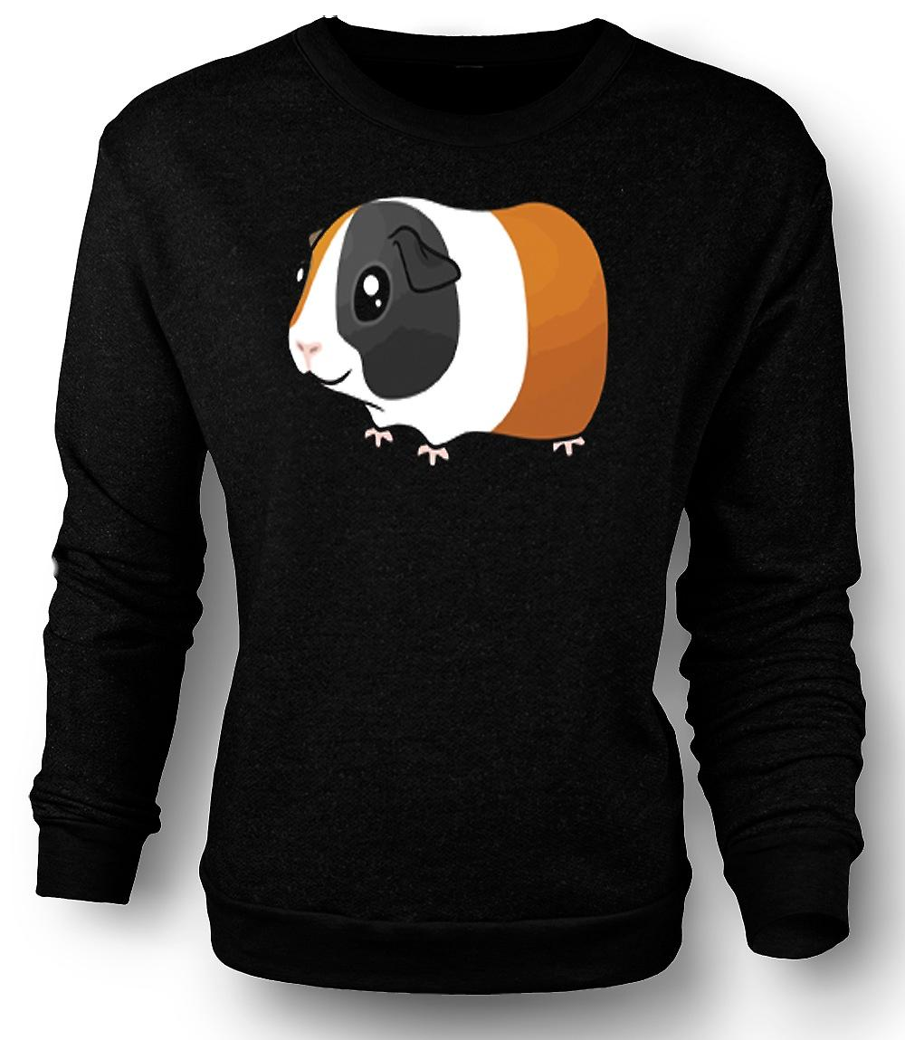Mens Sweatshirt Cartoon cavia Design