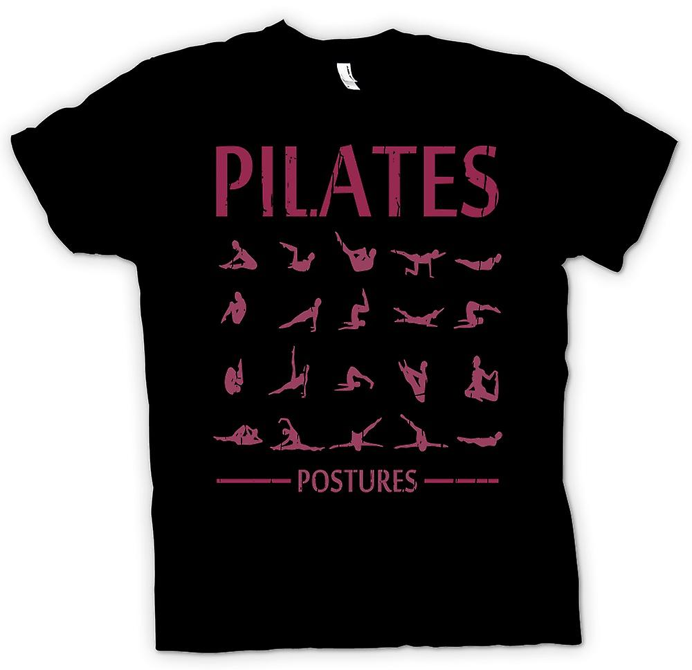 Kids T-shirt - Pilates Postures - Core Fitness