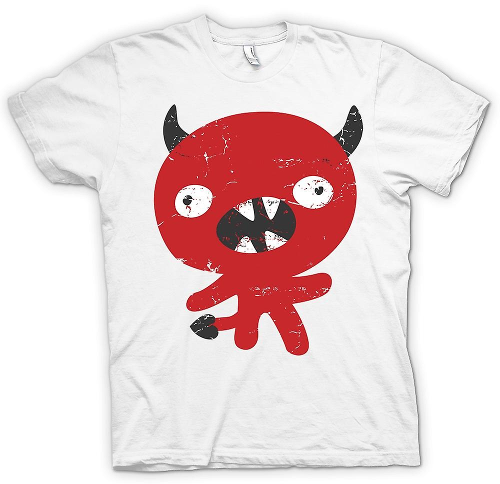 Mens T-shirt-hübsch Devil Cartoon - lustig