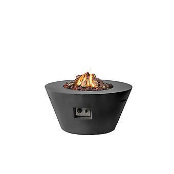 Happy Cocooning tuinhaard cone 96x96xH46 cm - zwart